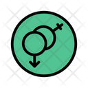 Gender Sex Romance Icon