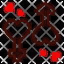 Gender Male Female Heart Icon