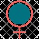 Gender Female Sign Icon
