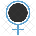 Gender Female Sign Icon