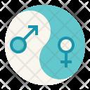 Gender Harmony Equality Icon