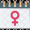 Gender On Calendar Icon