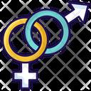 Male Symbol Female Symbol Gender Signs Icon