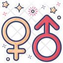Gender Signs Male Sign Female Sign Icon