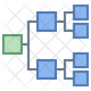 Genealogy Hierarchy Network Icon