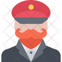 General Officer Man Icon