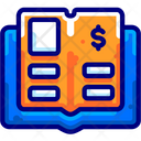 General Ledger Book Financial Books Icon