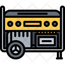 Generator Gasoline Electrician Icon