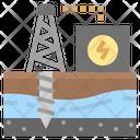 Generator Mining Drill Icon