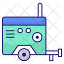 Generator Electricity Ecology Icon