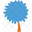 Generic Tree Silhouette Icon