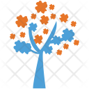 Generic Tree Flowers Icon