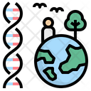 Genetic Environment Biology Icon