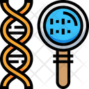 Genetic Dna Biology Icon