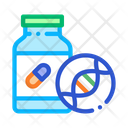 Medical Pill Bottle Icon