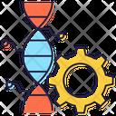 Genetic Modification Genetic Engineering Genetic Setting Icon