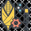 Genetic Modification Food Icon