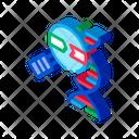 Research Molecule Science Icon