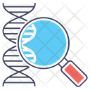 Dna Test Dna Strand Biology Icon