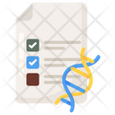 Genetic Testing Dna Test Medical Test Icon