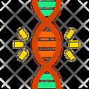 Genetics Dna Gene Icon