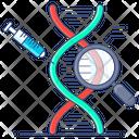 Genetic Engineering Genetic Modification Chromosome Icon