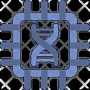 Chip Genome Code Icon