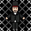Gentleman Mr Bean Icon