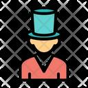 Gentleman Professional Occupation Icon