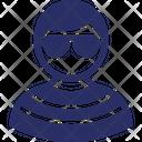 Avatar Gentleman Image Icon