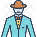 Gentleman Mynheer Esquire Icon