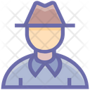 Gentleman Detective Fedora Icon