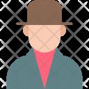 Gentleman Male Man Icon