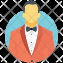 Gentleman Man Person Icon