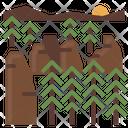 Geo Park Landscape Icon