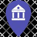 Geo Point Location Icon