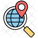 Geotagging Geographical Identification Icon