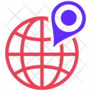Geo Targeting Global Location Business Location Icon