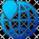 Geo Targeting Finance Global Icon