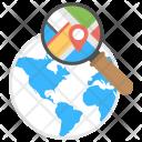 Geo Targeting Seo Icon