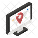 Gps Tracker Online Location Map Location Icon