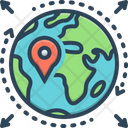 Geo Zone Geo Gps Icon