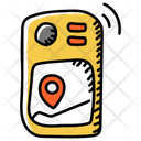 Gps Geocaching Location Icon