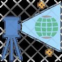 Geodesy Measure Simulate Icon