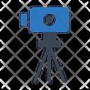 Surveyor Camera Construction Icon