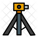 Geodetic Topography Surveyor Icon