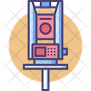 Geodetic Equipment Survey Machine Geodetic Machine Icon