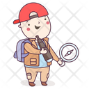 Archaeologist Archaeology Antiquarian Icon