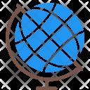 Geographic Globe Subject Icon