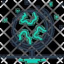 Geographic Icon